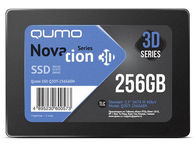 Твердотельный накопитель Qumo Novation SSD 256Gb Q3DT-256GAEN