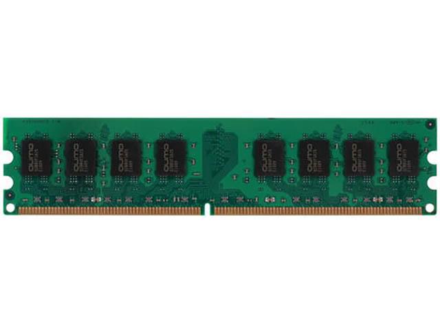 Модуль памяти Qumo 2GB DDR2 800MHz DIMM 240pin CL6 QUM2U-2G800T6 QUM2U-2G800T6R/QUM2U-2G800T5