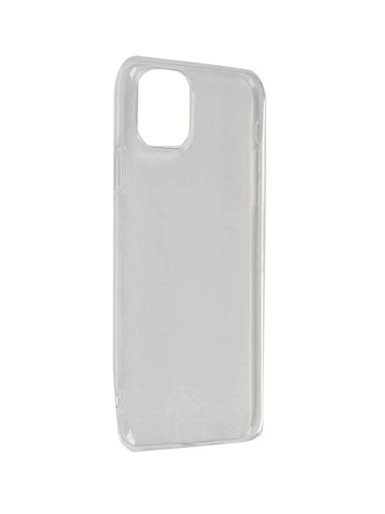 Чехол Brosco для APPLE iPhone 11 Pro Max Silicone Transparent IP11PM-TPU-TRANSPARENT