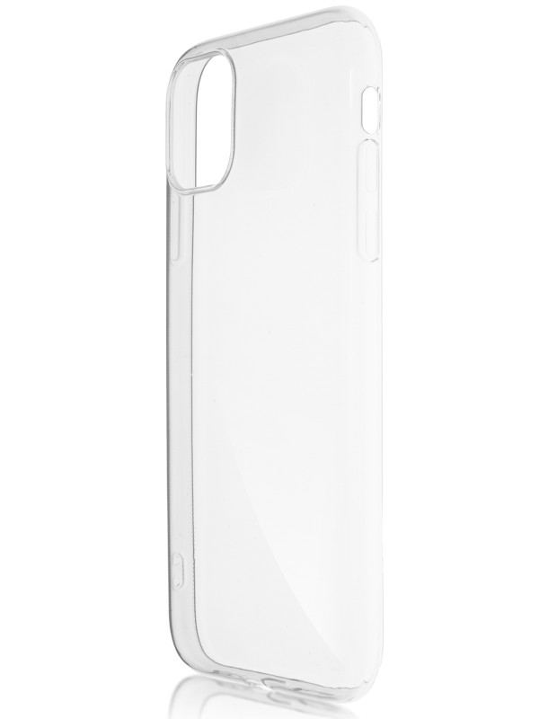 Чехол Brosco для APPLE iPhone 11 Silicone Transparent IP11-TPU-TRANSPARENT