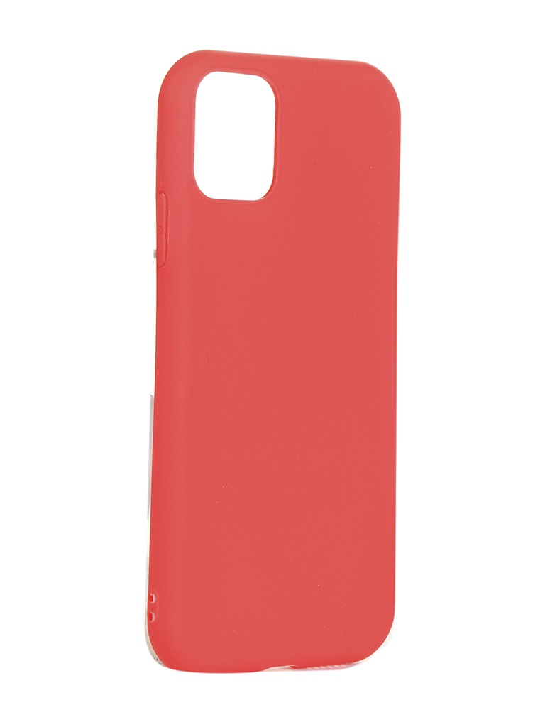Чехол Brosco для APPLE iPhone 11 Matte Red IP11-COLOURFUL-RED