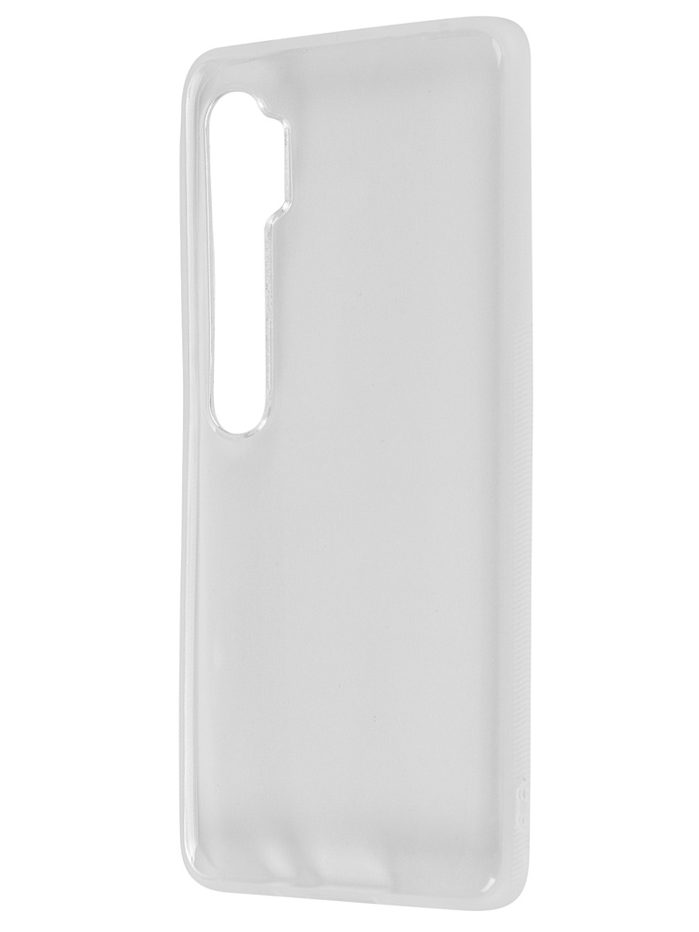 Чехол Brosco для Xiaomi Mi Note 10 Silicone Transparent XM-MIN10-NEWTPU-TRANSPARENT
