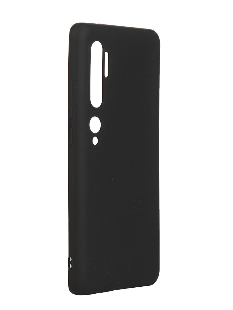 Чехол Brosco для Xiaomi Mi Note 10 Matte Black XM-MIN10-COLOURFUL-BLACK mi note 2 black