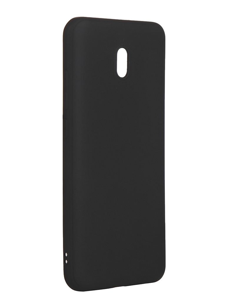 Чехол Brosco для Xiaomi Redmi 8A Matte Black XM-R8A-COLOURFUL-BLACK