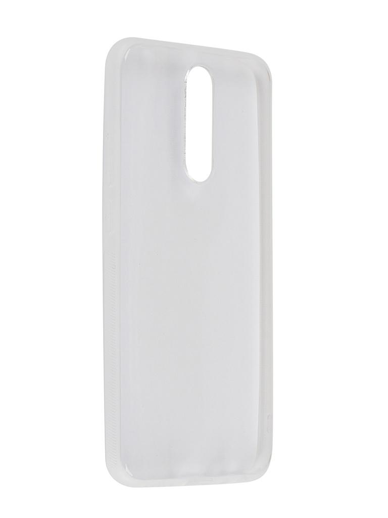 Чехол Brosco для Xiaomi Redmi 8 Silicone Transparent XM-R8-NEWTPU-TRANSPARENT