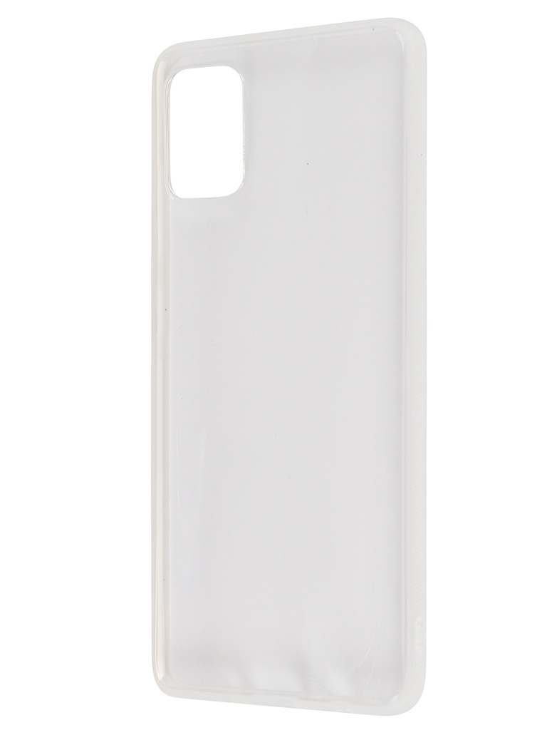 Чехол Brosco для Samsung Galaxy A51 Silicone Transparent SS-A51-NEWTPU-TRANSPARENT