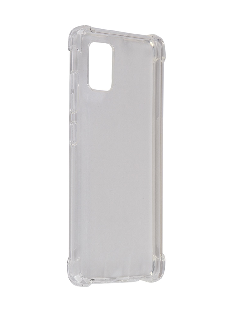 Чехол Brosco для Samsung Galaxy A51 Silicone Transparent SS-A51-HARD-TPU-TRANSPARENT