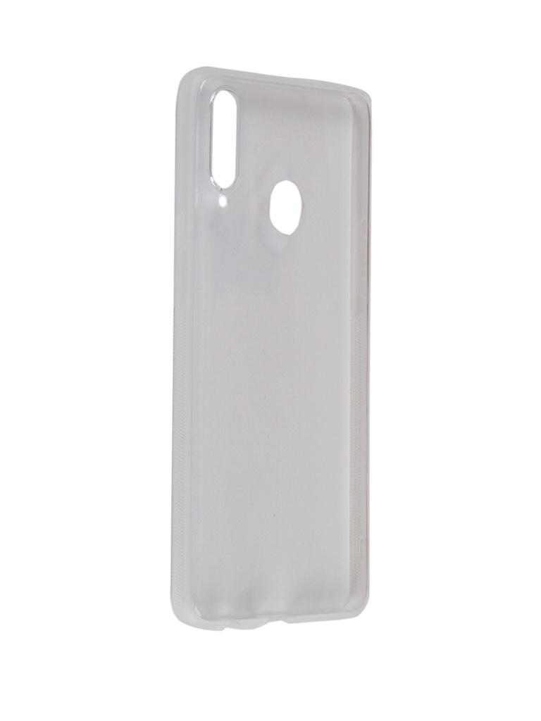 Чехол Brosco для Samsung Galaxy A20S Silicone Transparent SS-A20S-NEWTPU-TRANSPARENT