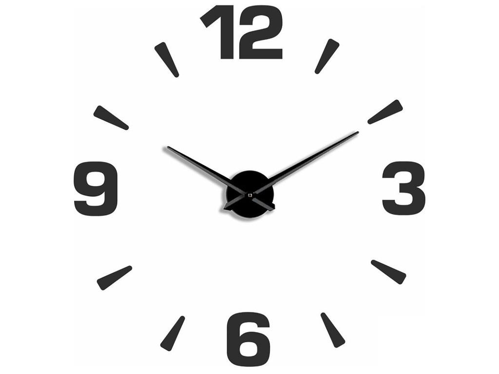 Часы Эврика 3D Арабские Black 99680 фото