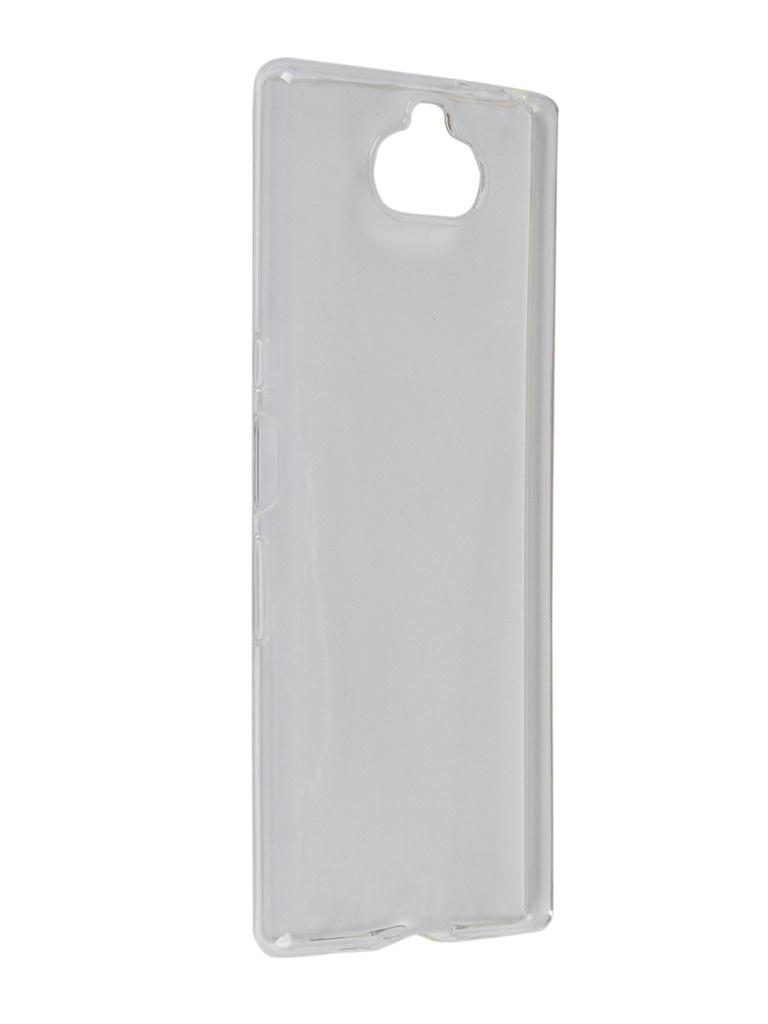 Чехол Brosco для Sony Xperia 10 Plus Silicone Transparent 10P-TPU-TRANSPARENT аксессуар чехол sony xperia xa ultra brosco transparent xau tpu transparent