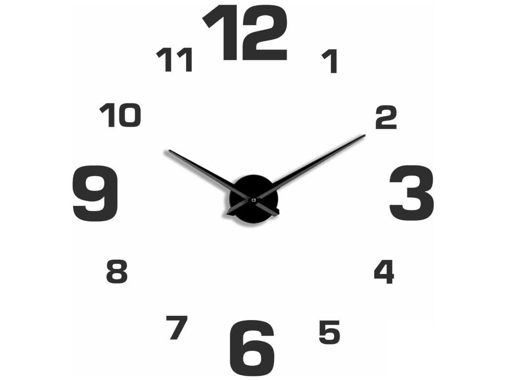 лучшая цена Часы Эврика 3D Цифры Black 99686