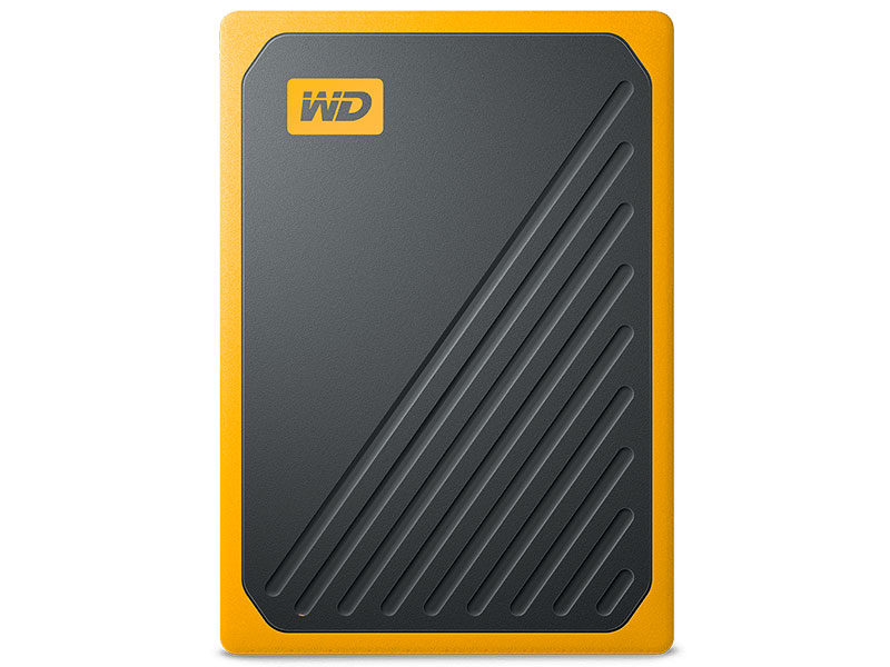 Жесткий диск Western Digital My Passport Go 1Tb Amber WDBMCG0010BYT-WESN my passport
