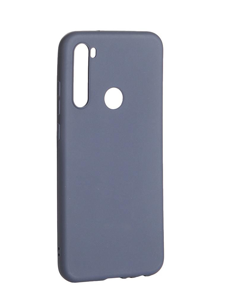 Чехол Zibelino для Xiaomi Redmi Note 8T Soft Matte Dark Blue ZSM-XIA-RDM-NOT8T-DBLU аксессуар чехол xiaomi redmi 4 4 pro zibelino classico dark blue zcl xia rdm 4 dblu