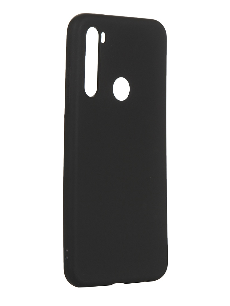 Чехол Zibelino для Xiaomi Redmi Note 8T Soft Matte Black ZSM-XIA-RDM-NOT8T-BLK