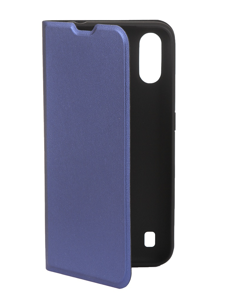 Чехол Red Line для Samsung Galaxy A01 SM-A015F Book Cover Blue УТ000019498