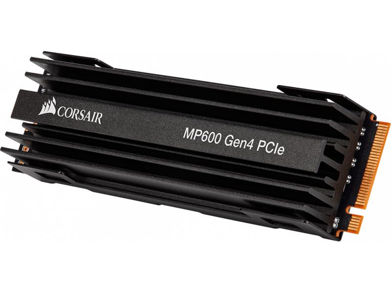 Фото - Твердотельный накопитель Corsair Force Series MP600 2Tb CSSD-F2000GBMP600 внутренний ssd накопитель 4096gb corsair force mp600 core cssd f4000gbmp600cor m 2 2280 pcie nvme 4 0 x4