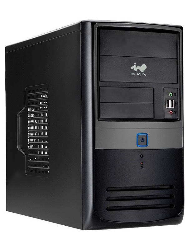 Корпус In Win EMR003BG mATX 450W Black-Grey 6121835