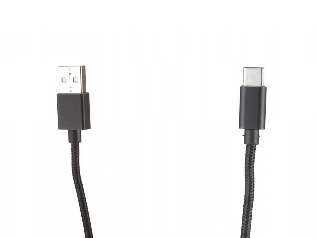 Аксессуар Qumo USB 2.0 - Type-С 1m Black