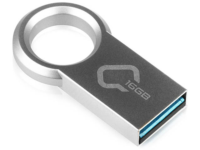 USB Flash Drive 16Gb - Qumo Ring 3.0 Metallic