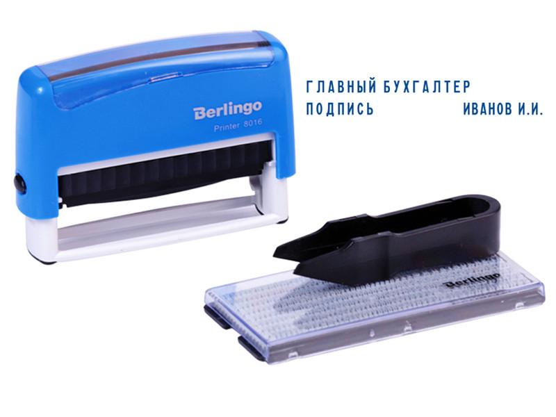 Штамп самонаборный Berlingo Printer 8016 70x10mm BSt_82502