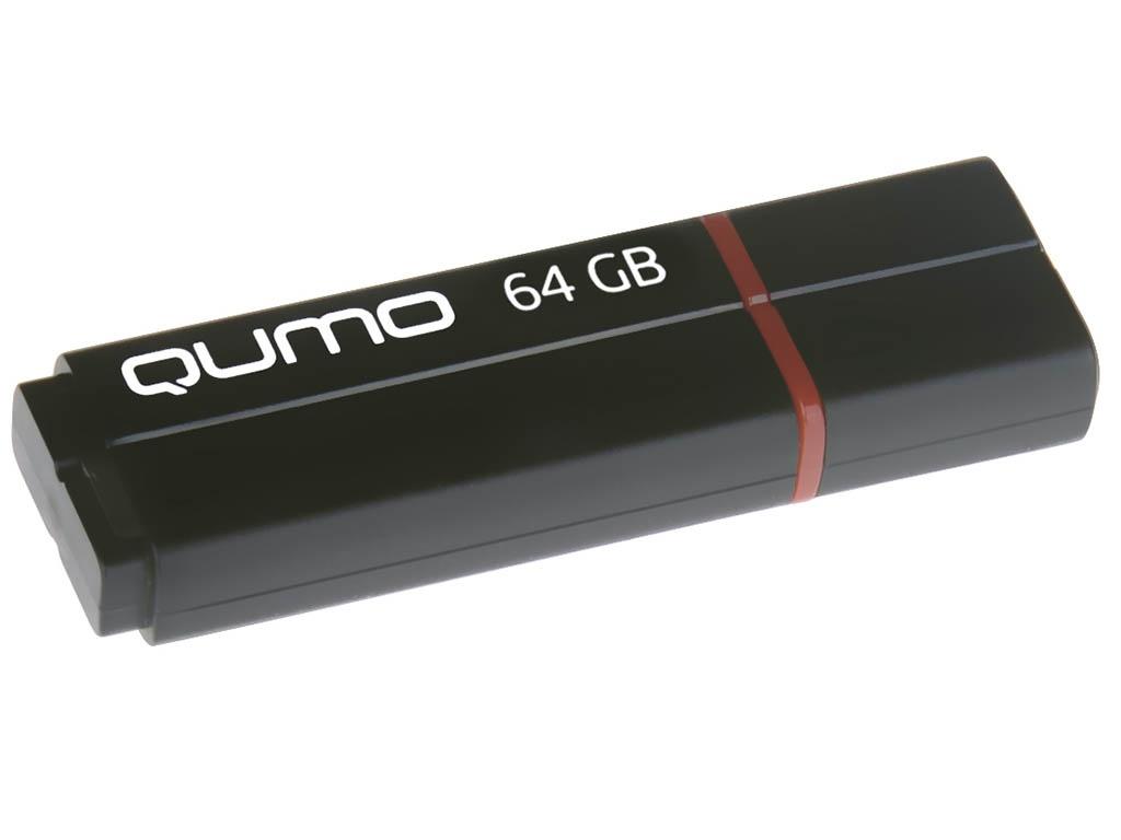 USB Flash Drive Qumo Speedster 64Gb Black