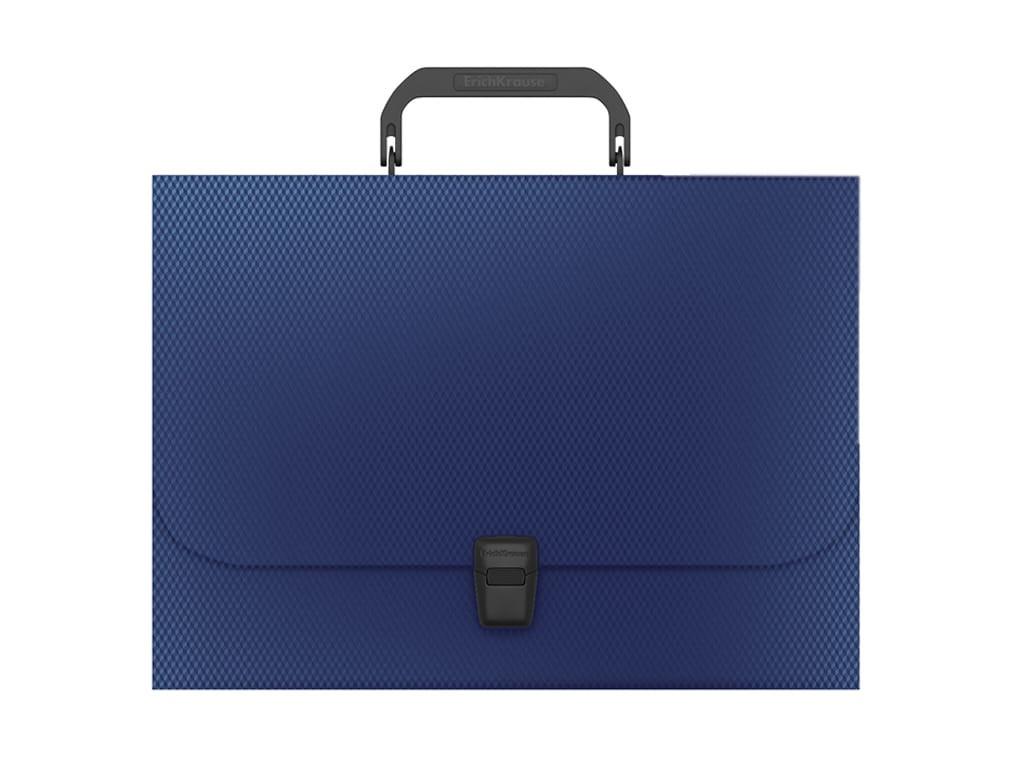 Папка ErichKrause Diamond A4 230x335x35mm Blue 50460