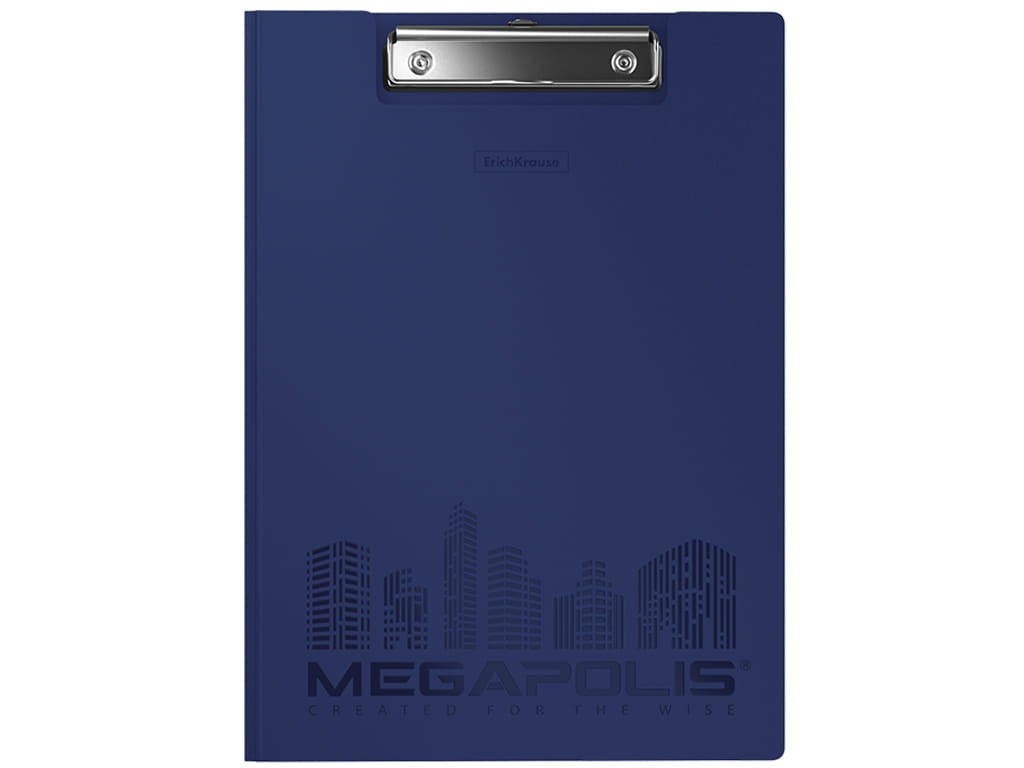 Папка ErichKrause Megapolis A4 Blue 50145