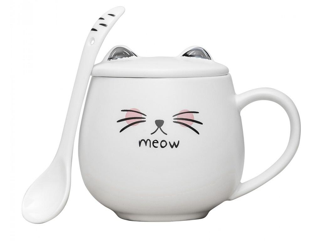 Кружка Эврика Котик Meow 2 99614 do cows meow