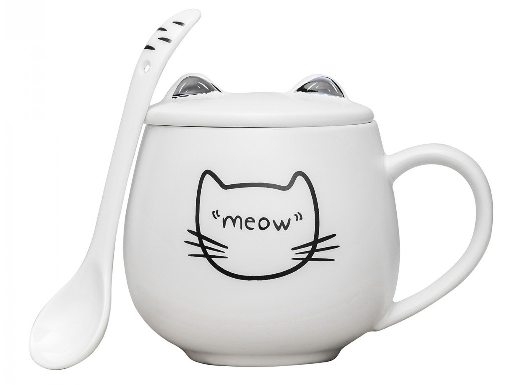 Кружка Эврика Котик Meow 1 99613