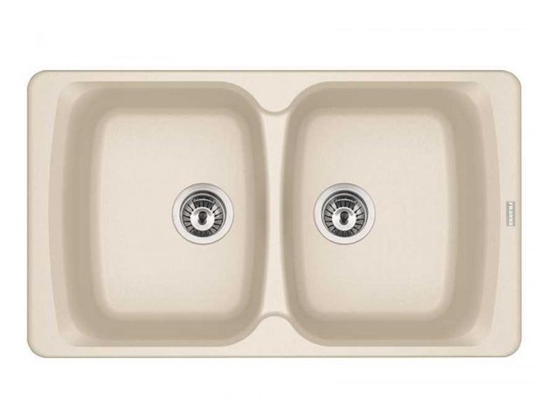 Кухонная мойка Franke AZG 620 Vanilla 114.0489.279 врезная кухонная мойка 86 см franke azg 620 114 0489 301 бежевый