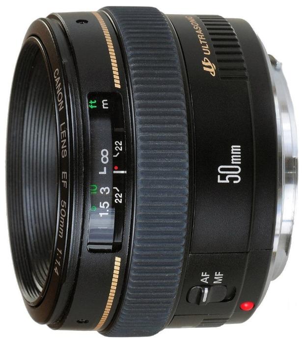 лучшая цена Объектив Canon EF 50 mm F/1.4 USM