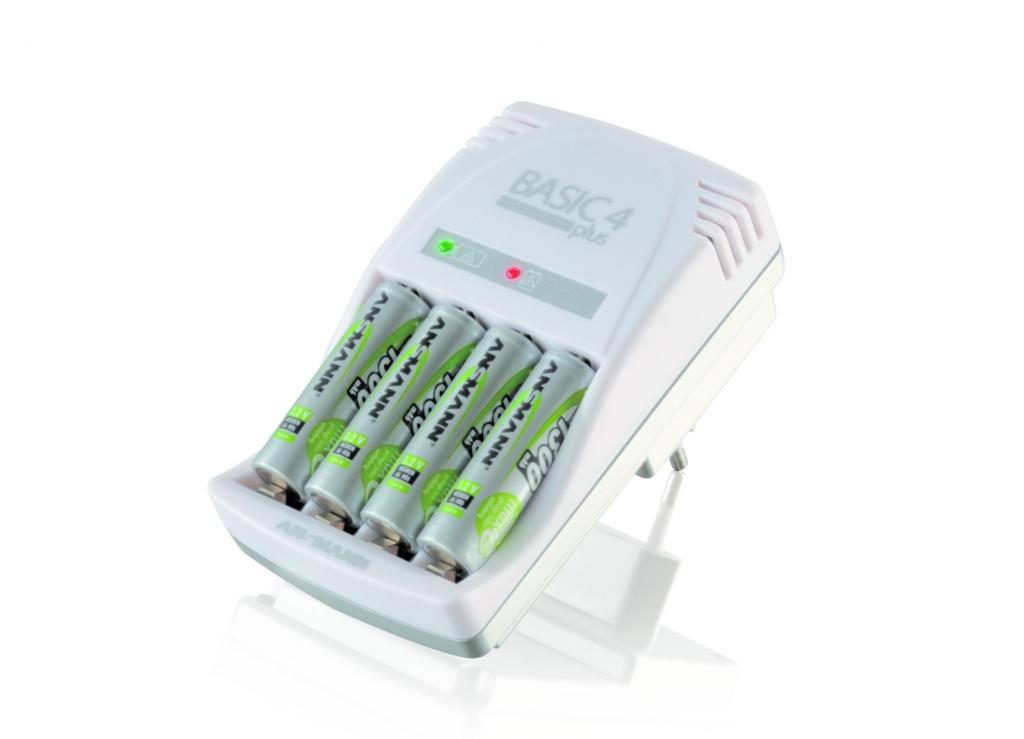 Зарядное устройство Ansmann BASIC 4 plus 5107343
