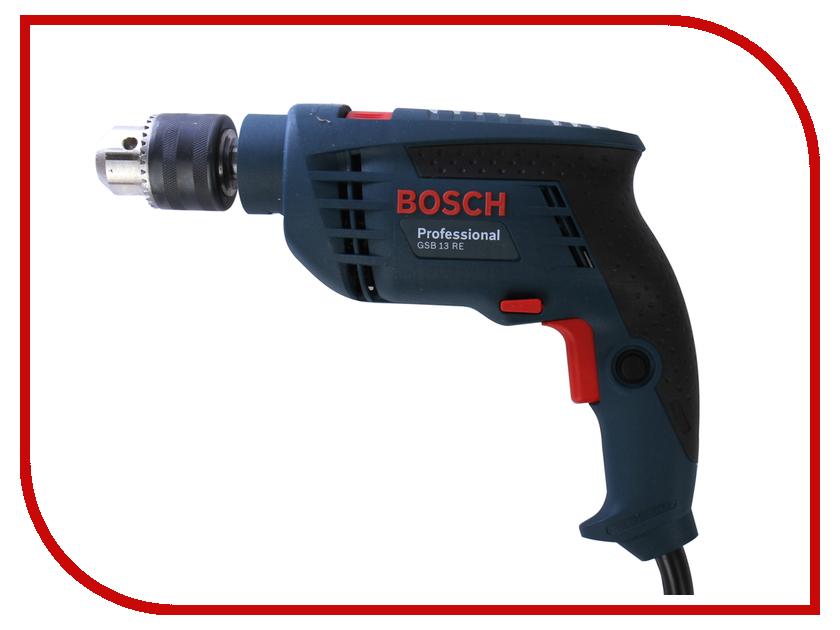 Электроинструмент Bosch GSB 13 RE (ЗВП) 0601217102 дрель bosch gsb 192 re 0 601 17в 500