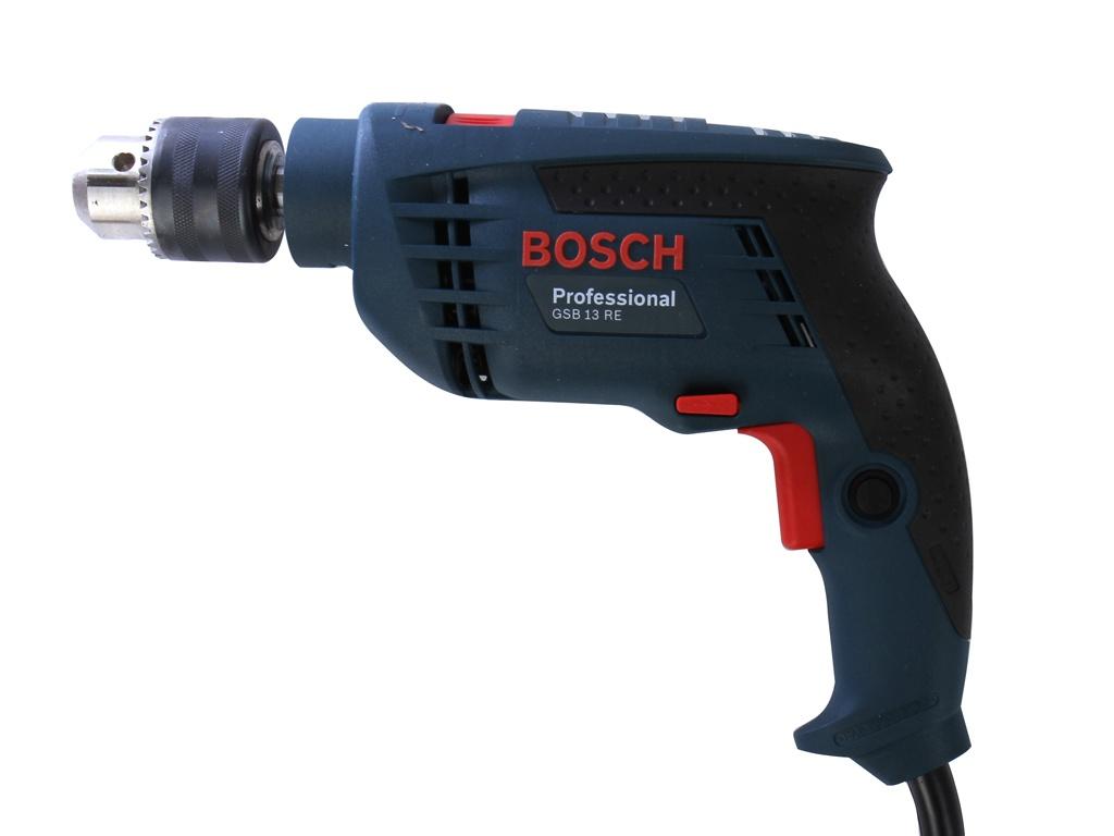 Электроинструмент Bosch GSB 13 RE (ЗВП) 0601217102 ударная дрель bosch gsb 13 re звп 0601217102