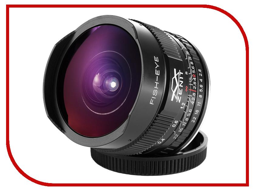 Картинка для Объектив Зенит МС Зенитар-C Canon 16 mm F/2.8 Fisheye