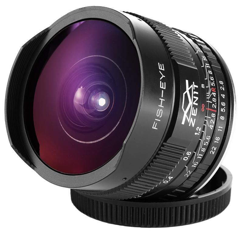 Объектив Зенит МС Зенитар-С Canon 16 mm F/2.8 Fisheye
