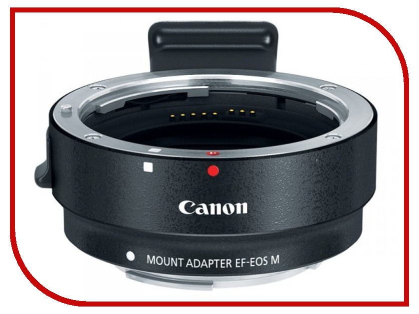 Кольцо Canon Mount Adapter EF-EOS M - переходник для объективов Canon EOS sg407 double bracket bridge dual holder handle grip monopod mount adapter for action camera