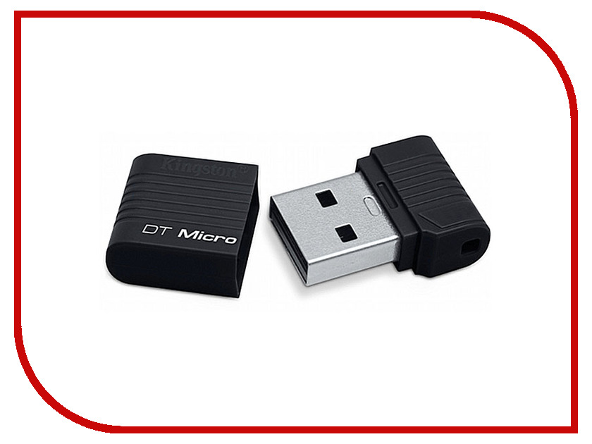 USB Flash Drive 8Gb - Kingston FlashDrive DataTraveler Micro DTMCK/8GB<br>