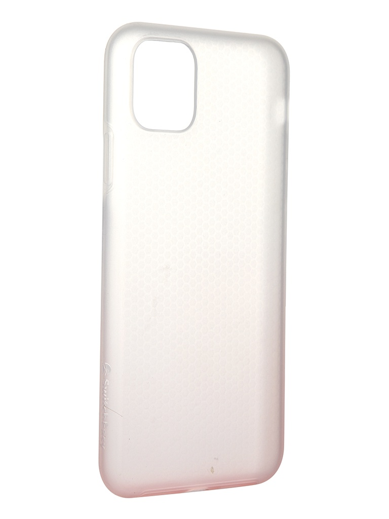 Чехол SwitchEasy для APPLE iPhone 11 Pro Max Skin White-Pink Gradient GS-103-83-193-118