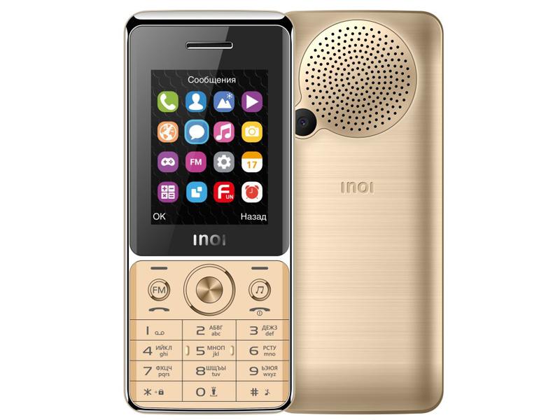 Сотовый телефон Inoi 248M Gold