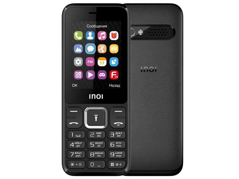 Сотовый телефон Inoi 242 Black