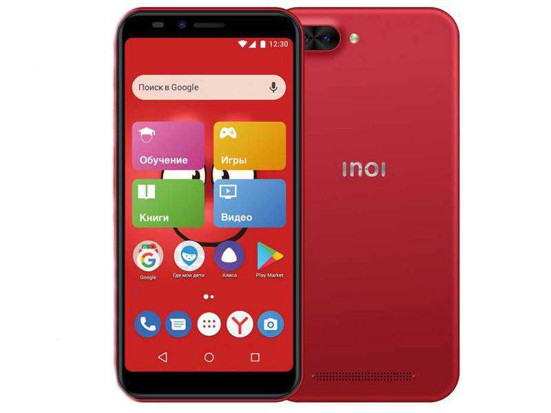 Сотовый телефон Inoi kPhone Red сотовый телефон inoi 239 white