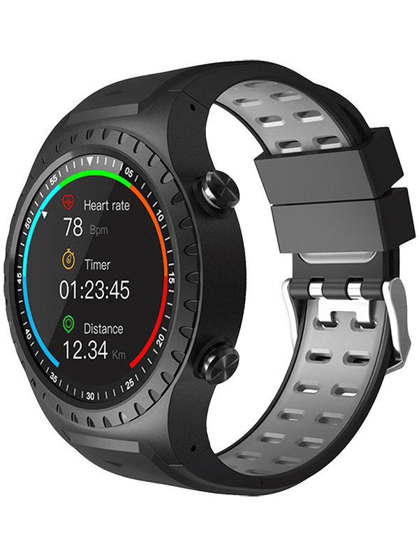 Умные часы Geozon Sprint Black-Grey G-SM02BLKG