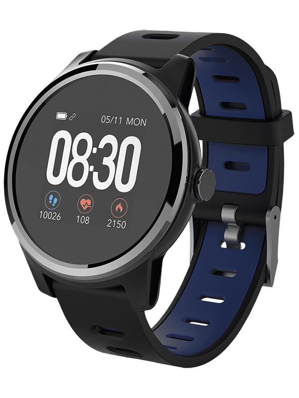 Zakazat.ru: Умные часы Geozon Vita Plus Black-Blue G-SM01BLKB