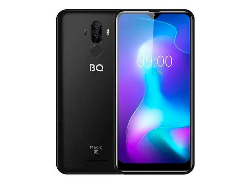 Сотовый телефон BQ 6042L Magic E Black сотовый телефон bq 5731l magic s deep blue