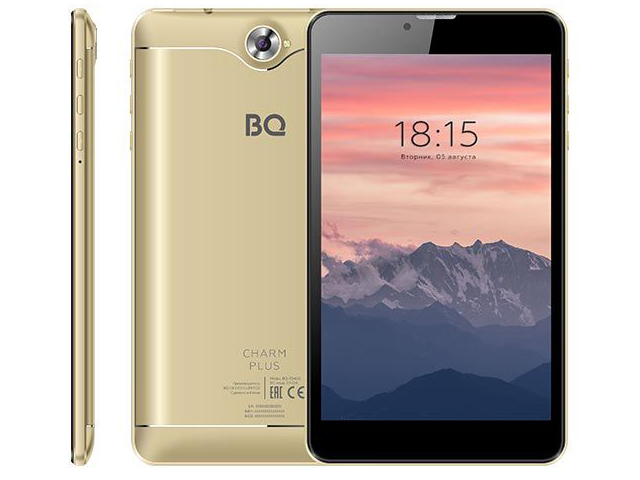 Планшет BQ 7040G Charm Plus 7 16Gb 3G Gold