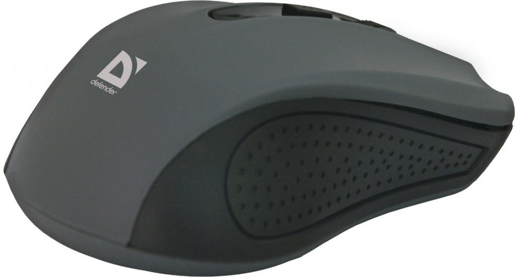 Мышь Defender Accura MM-935 Grey 52936 Выгодный набор + серт. 200Р!!!