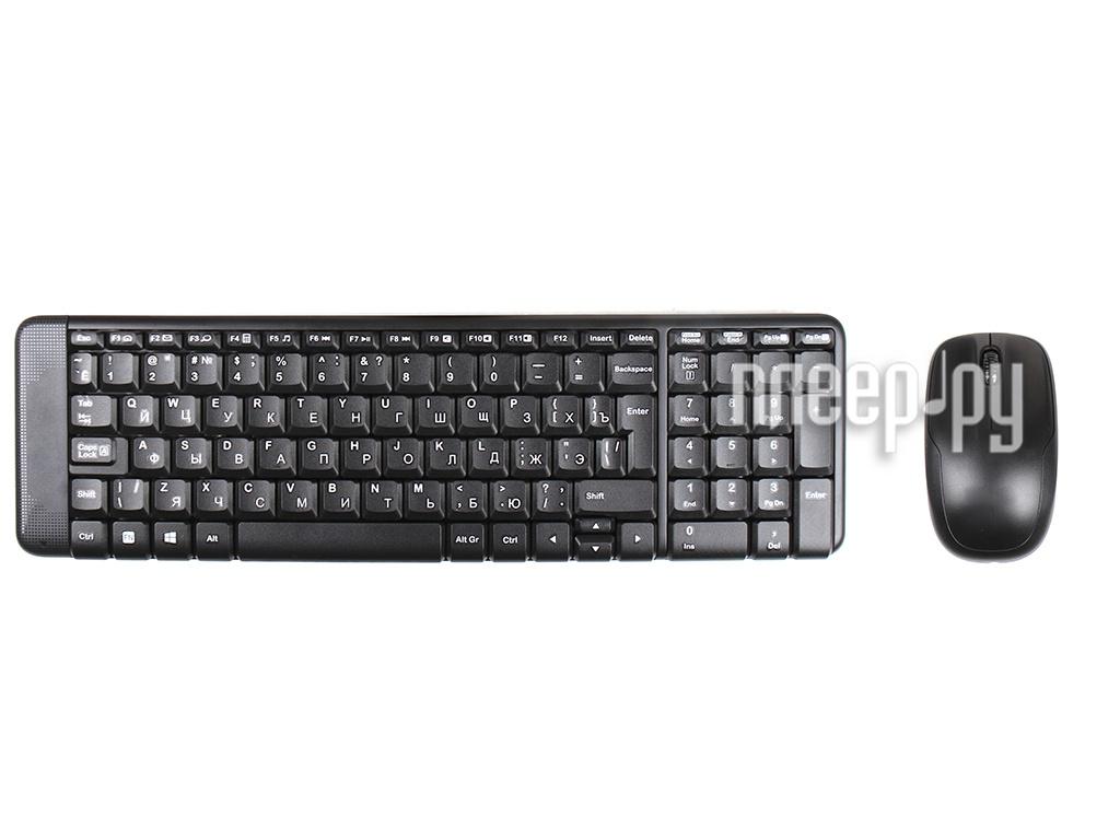 Набор Logitech Wireless Combo MK220 920-003169 Выгодный набор + серт. 200Р!!!