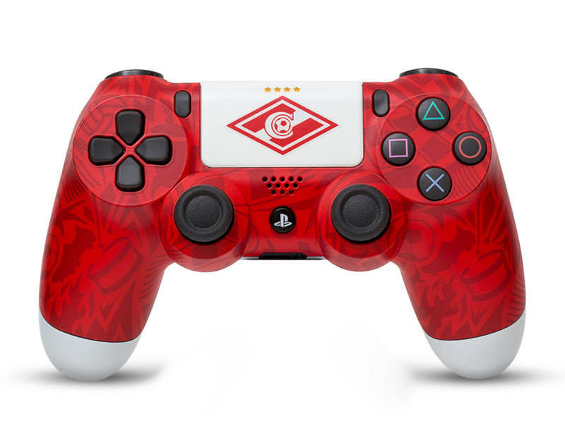 Геймпад Rainbo Sony DualShock 4 Спартак Легендарный стиль RBW-DS071