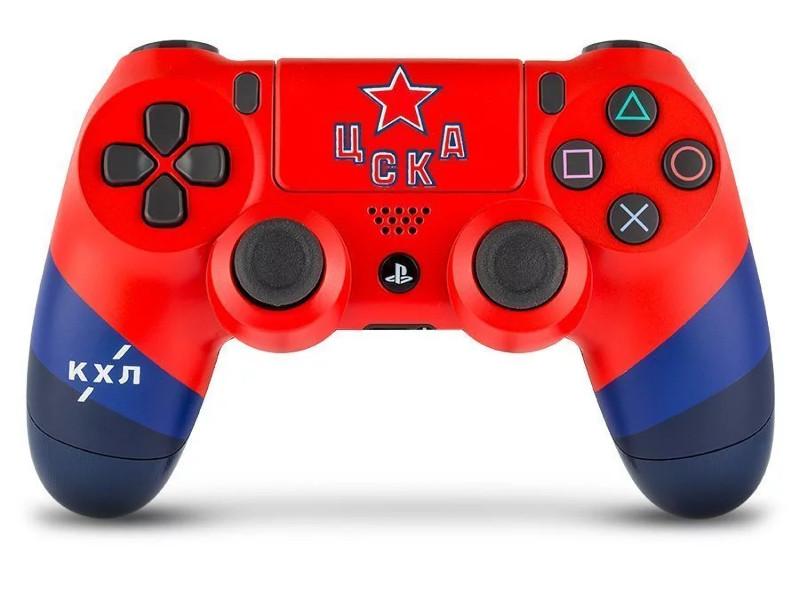 Геймпад Rainbo Sony DualShock 4 КХЛ ЦСКА RBW-DS069